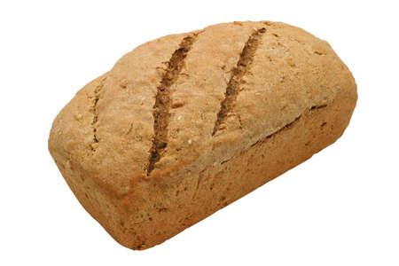 avena en hojuelas: Pan caluroso del pan - multi pan del grano, hecho en casa con los ingredientes org�nicos del 100%: la harina entera del trigo, del alforf�n, del centeno y de cebada, semilla de s�samo, semilla de girasol, rod� avena, la melaza, la sal de la roca, la levadura y el agua.