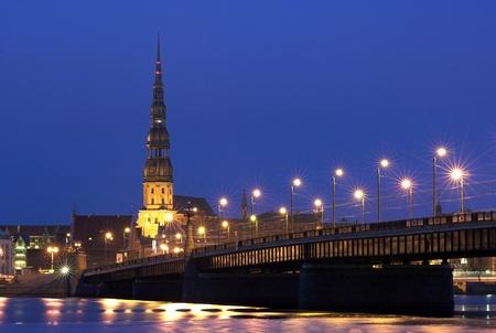 Riga - the Capital of Latvia Stock Photo