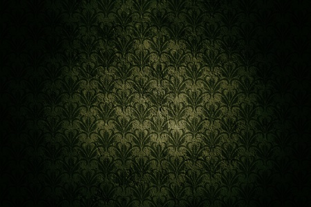 Sötét grunge fal háttér Retro Pattern és a Fekete-matrica