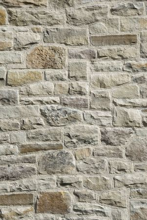Detail of a stone wall. Stock Photo