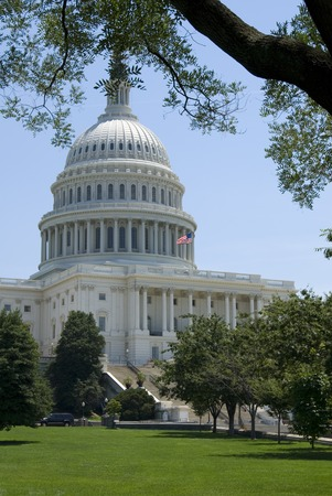 lobbying: The Capitol, located in Washington, DC, is the building in which the United States Congress meets.