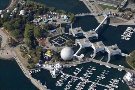 Ontario Place opened in May 1971 and is an internationally acclaimed cultural, leisure and entertainment parkland located in Toronto, Ontario, Canada. The complex extends throughout three man-made islands along the Lake Ontario waterfront. photo
