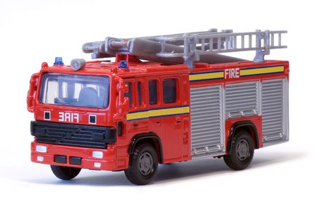 A toy London fire engine. photo