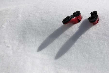 jack frost: Invierno en Canad�!  Foto de archivo
