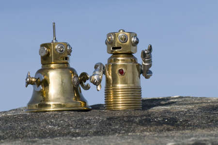 soldered: I just dont see how stairs will really improve things for us,said Bob to Bobette.  The Bobs of Natter Bloop are a close-knit family, soldered together by common interests. Grandad Bob, husband Bob, wife Bobette, and their son Baby Bob enjoy the typical N