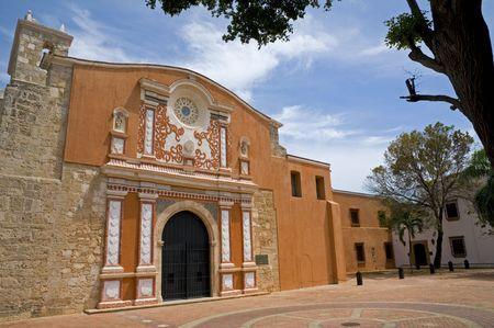 The recently restored Convento de la Orden de los Predicadores in Santo Domingo, Dominican Republic.