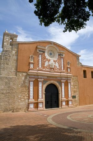 recently: The recently restored Convento de la Orden de los Predicadores in Santo Domingo, Dominican Republic.