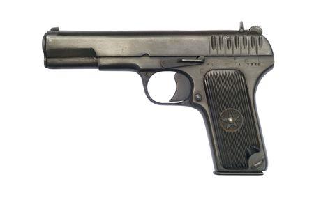 gunmetal: A Soviet pistol from 1942; the year the Battle of Stalingrad began.