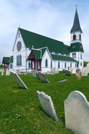 St Paul s Anglican Church, Trinity, Newfoundland, Canada Stock Photo
