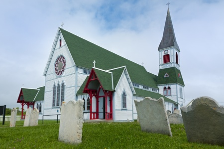 St Pauls Anglican church in the town of Trinity, Newfoundland, Canada.