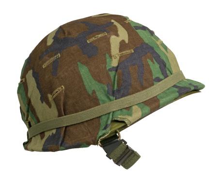 A US military helmet Stock Photo