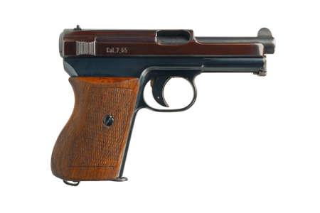 automatic pistol: A German 7 65mm semi-automatic pocket pistol from 1934