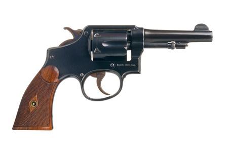 gun trigger: A classic American revolver in .38 Special.