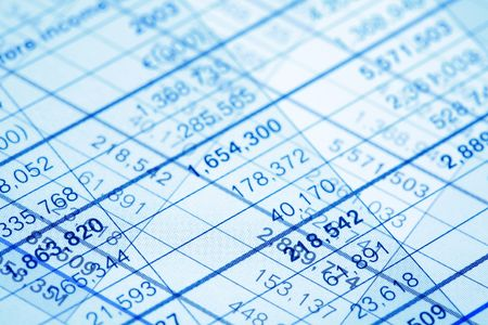 Numbers background Stock Photo - 815990