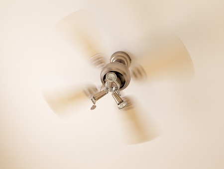 Concept of summer ceiling cooling photo
