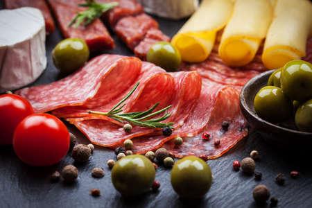 jamon y queso: Foto de antipasti y aperitivos