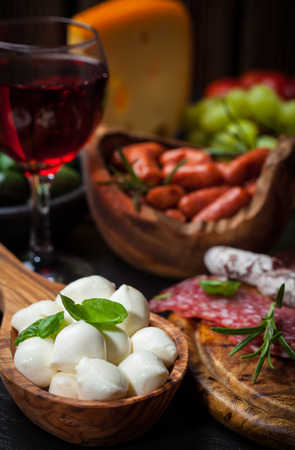 Photo of antipasti and appetizers photo