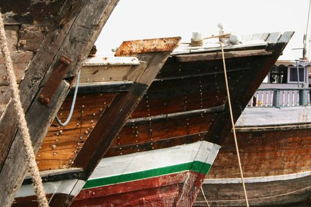 quayside: Traditional Dhows at the Quayside