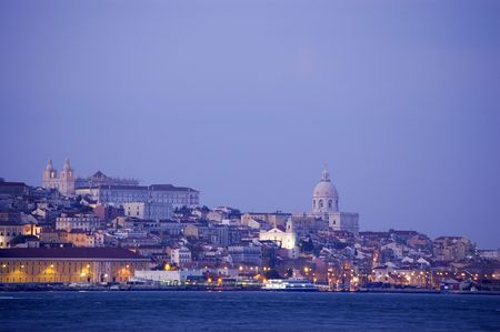 Downtown of Lisbon, historical part of the city, european city Stock Photo - 900651