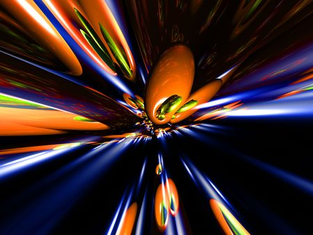 abstract background created by computer 3d cgi