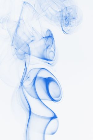 untitled key: image of smoke with abstract shapes