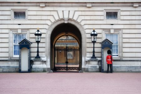 image of the guards at buckingham palace Stock Photo - 1810206