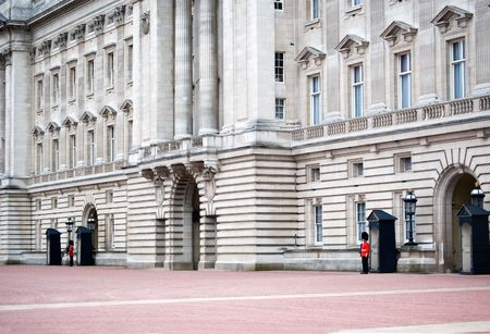 image of the guards at buckingham palace Stock Photo - 1810207