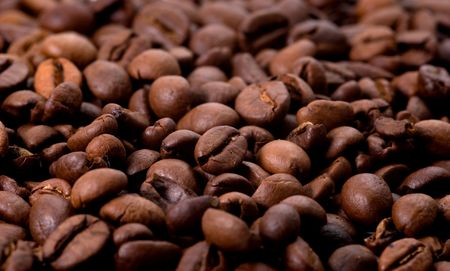 close up of coffee beans Stock Photo - 2073779