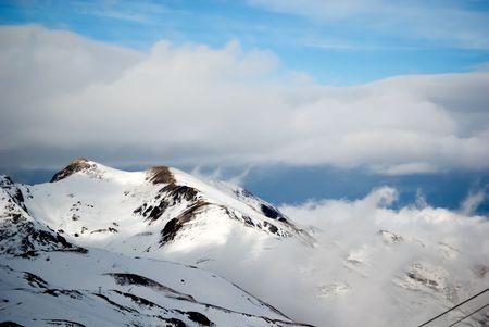 close ups: close ups of mountain peaks