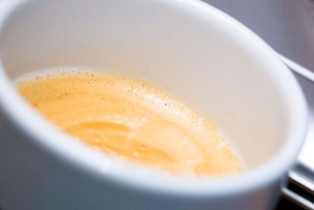 close up of a coffe Stock Photo