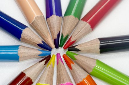 storyboard: Coloured pencils
