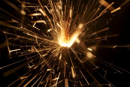 sparkler in action  photo