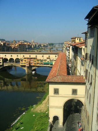 ponte: Ponte Vecchio Florence Stock Photo