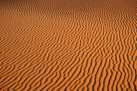 ondulation: Mod�le de sable dans le d�sert du Sahara, Maroc