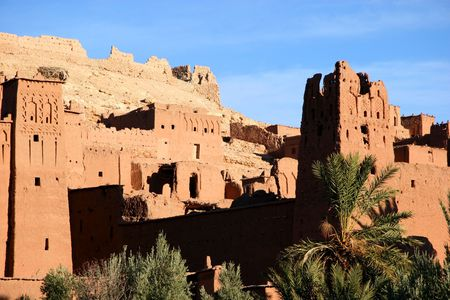 ancient city of ait benhaddou, morocco