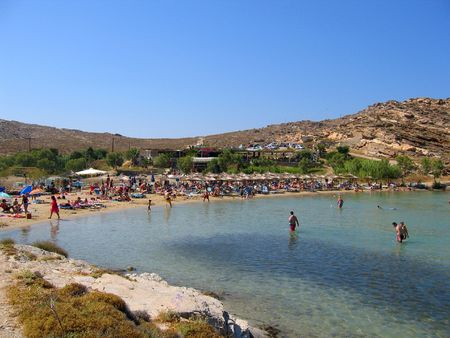 togs: Monastiri Beach, Paros, Greece