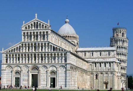 Pisa Basilica and tower, Pisa Stock Photo - 369360