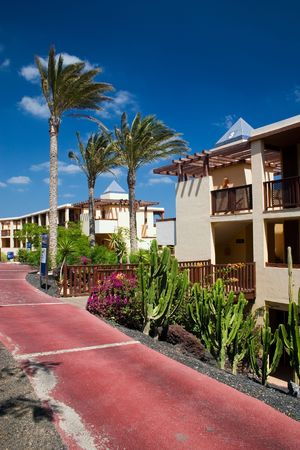 Beautiful hotelSpa on the Canary Islands