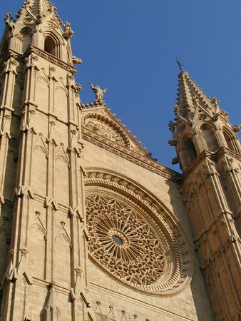 mallorca: CATHEDRAL OF MALLORCA Stock Photo