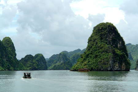 ha: Ha Long Bay Stock Photo