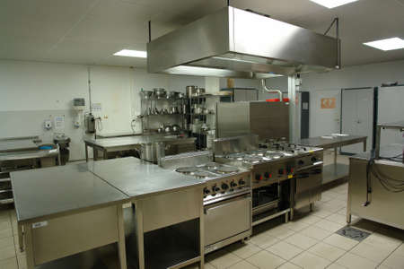 stainless steel kitchen: Professional kitchen