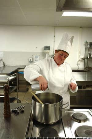 chef cocinando: El cocinar del cocinero