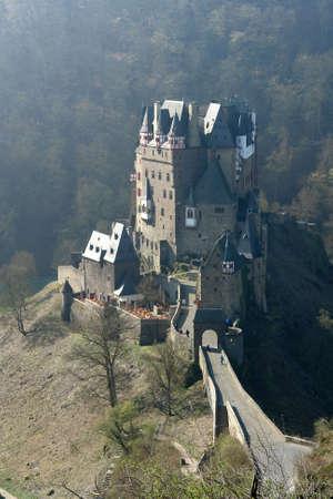 burg: The famous Burg Eltz in the Eifel in Germany Editorial