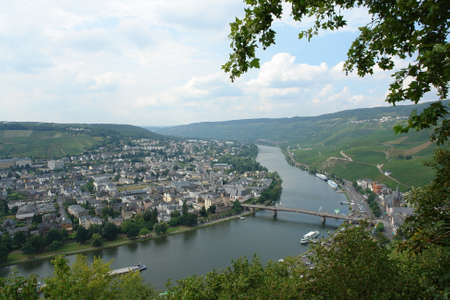 mosel: Mosel valley Stock Photo
