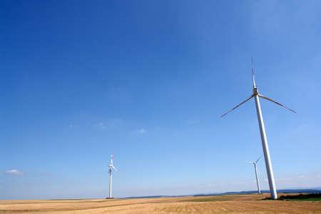 watt: Wind turbines generating healthy environmentally green energy