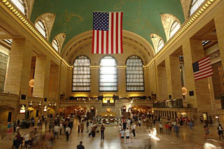 new direction: grand central terminal - one of new york city landmarks