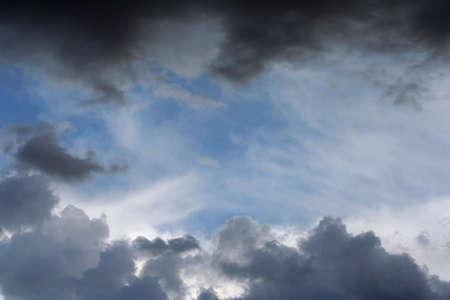 threatening: threatening sky Stock Photo