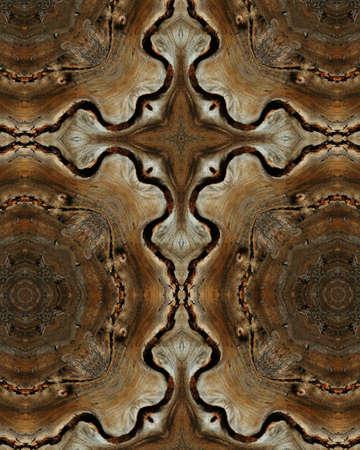 crux: kaleidoscope cross:  wood grains
