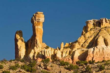 Chimney Rock, near Ghost Ranch, New Mexico
