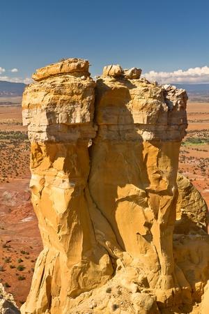 Chimney Rock, near Ghost Ranch, New Mexico photo